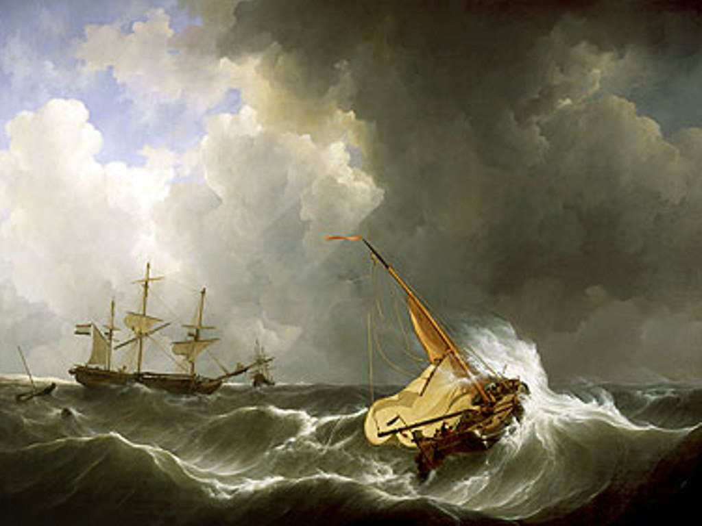 Schotel-Johannes-Stormy-weather-off-the-coast-of-Vlieland