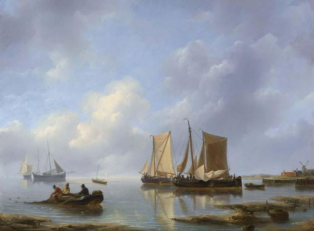 Schotel-Petrus-Shipping-in-an-estuary