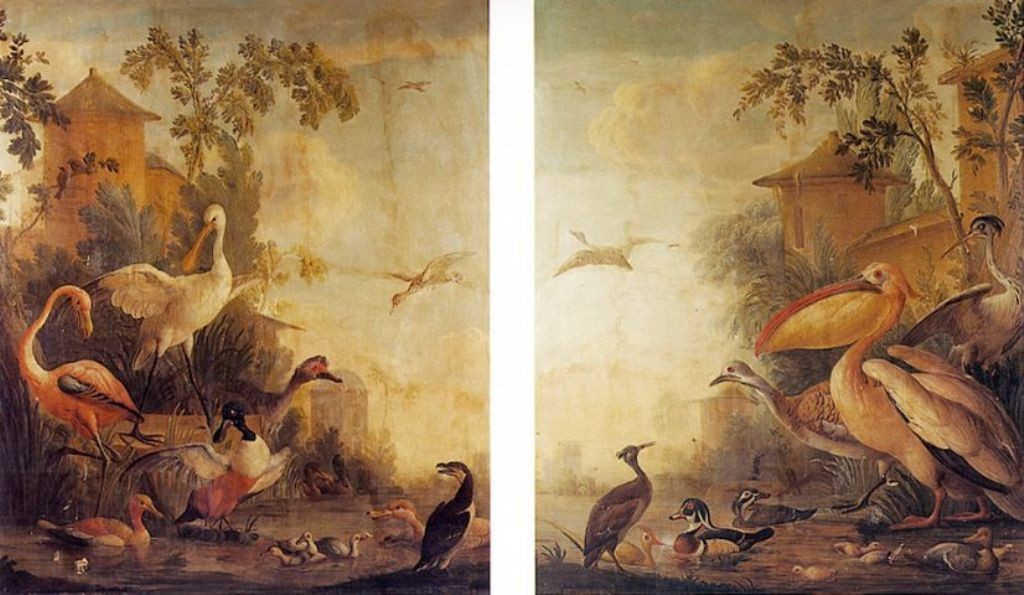 Schouman-Aert-Decorative-birds-in-a-park